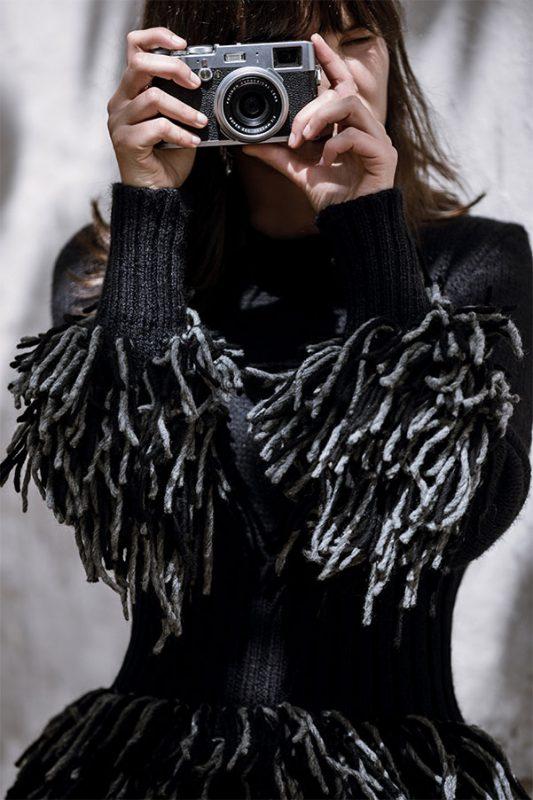 Victoria Holguin, vestuario Laura Laurens